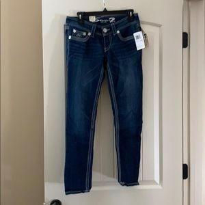 Seven7 skinny jeans size 6P, NWT